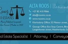 Alta Roos Trust & Deceased Estates