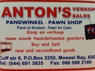 Anton's Sales